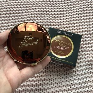 Too faced chocolate gold bronzer full size